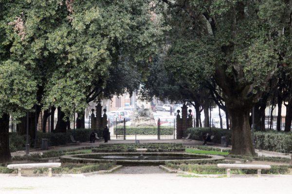Вход в парк Фронтоне