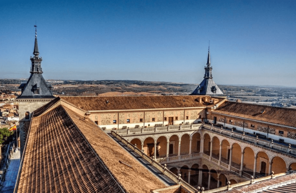 Вид сверху на крепость Алькасар