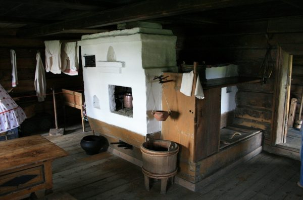 Внутренний интерьер дома Щепина