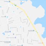 Водохранилище на карте Симферополя