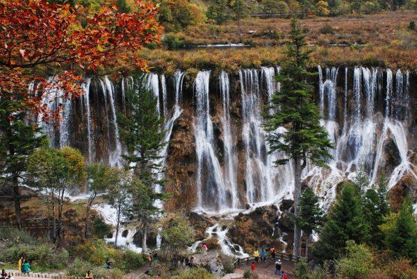 Водопад Жемчужный в пос. Большой Утриш