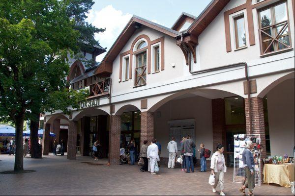 Здание железнодорожного вокзала Светлогорск-2