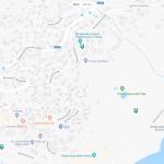 Воронцовские купальни на карте Алупки