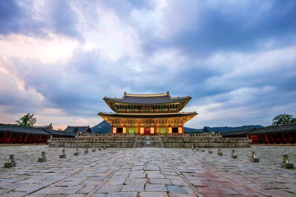 Тронный зал Кёнбоккун в Сеуле