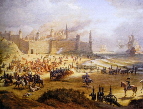 Взятие крепости Анапа русскими