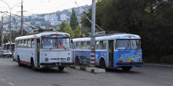 Ялтинские троллейбусы