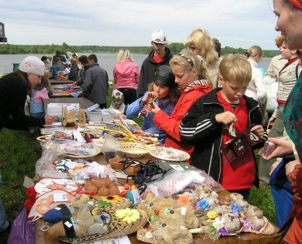Ярмарка в Кижах