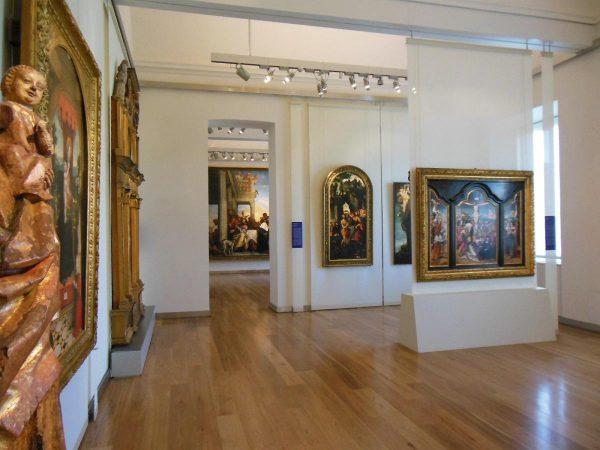 Зал галереи Сабауда