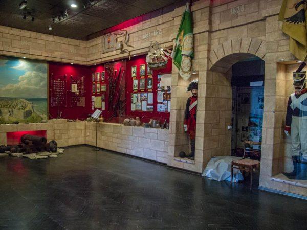 Зал краеведческого музея Анапы
