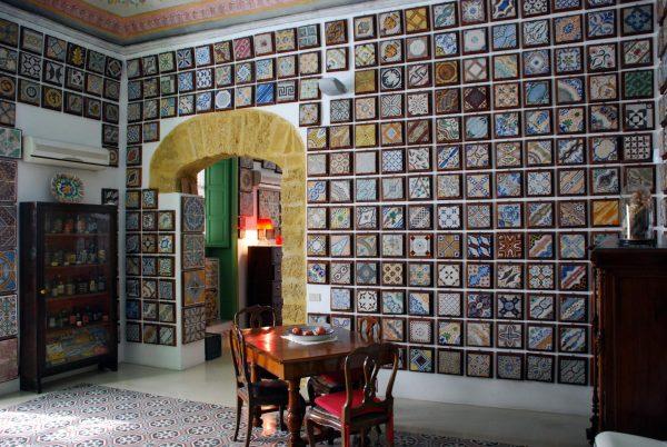 Зал Музея керамической плитки в Палермо