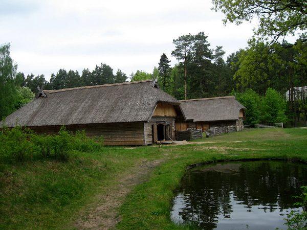 Здания этнографического музея в Риге