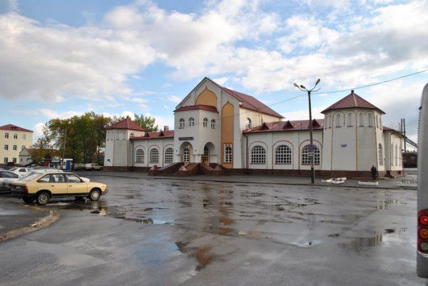 Железнодорожный вокзал Мурома
