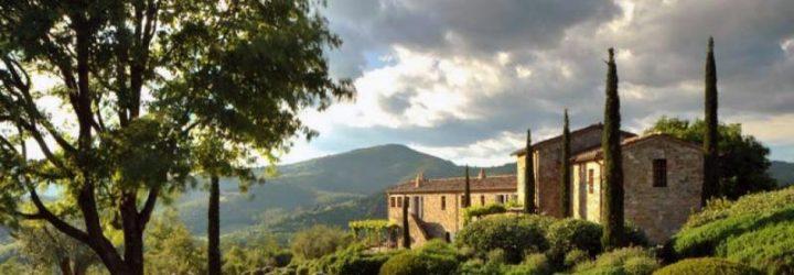 Живописный пейзаж на окраине Перуджи