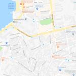 Аббатство Сен-Виктор на карте Марселя