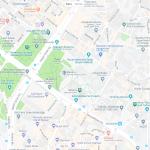 Акведук Валента на карте Стамбула