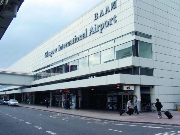 Аэропорт в Глазго