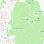 Большой парк на карте Афин
