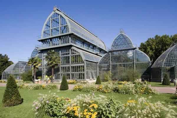 Ботанический сад в Тет д'Ор