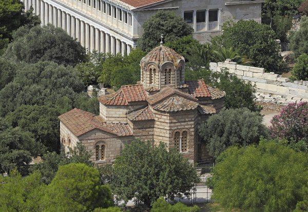 Церковь Святых Апостолов в Афинах
