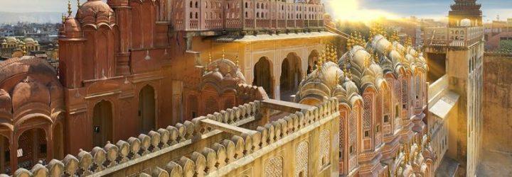 Джайпур на закате