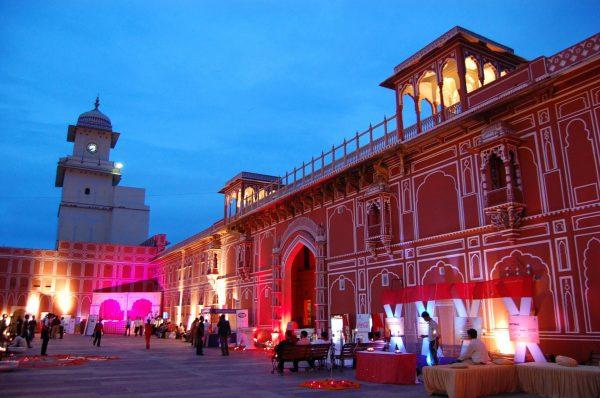 Джайпур вечером