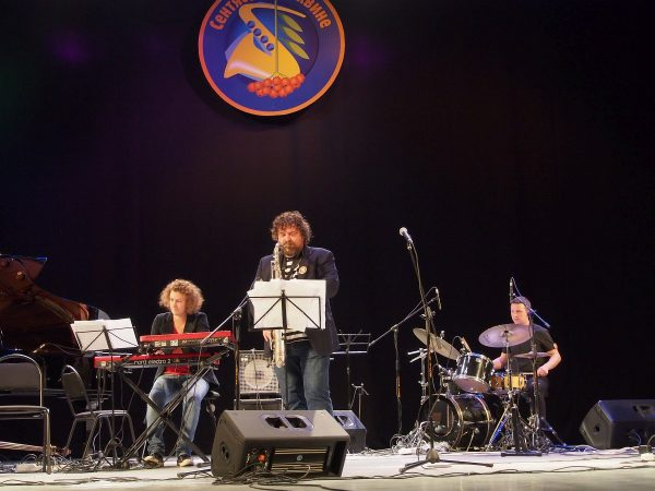 Джаз-группа на фестивале «Сентябрь в Тихвине»