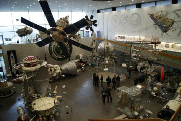 Экспозиции в Ростовском музее космонавтики