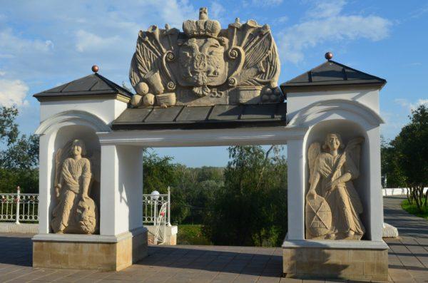 Елизаветинские ворота в Оренбурге