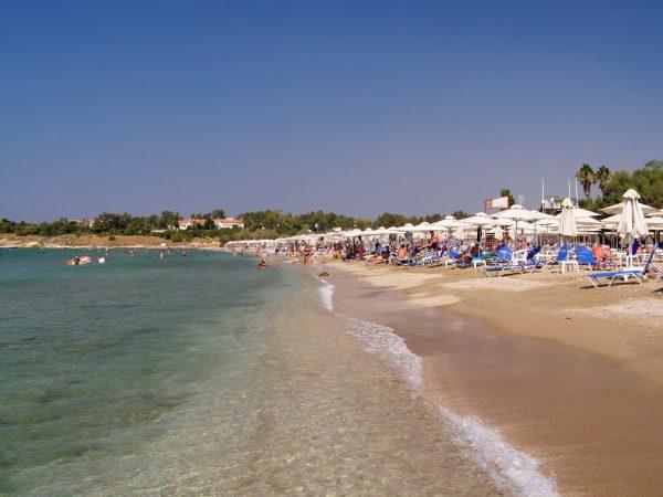 Пляж Вула в Афинах