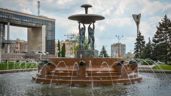 Фонтан на Театральной площади Ростова-на-Дону