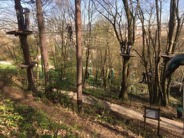 Верёвочный парк France Aventures Lyon