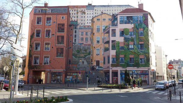 Фреска Le Mur Des Canuts