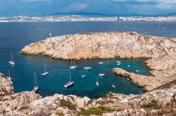 Фриульские острова недалеко от Марселя