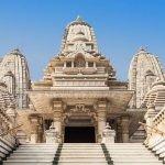 главный вход храма бирла мандир