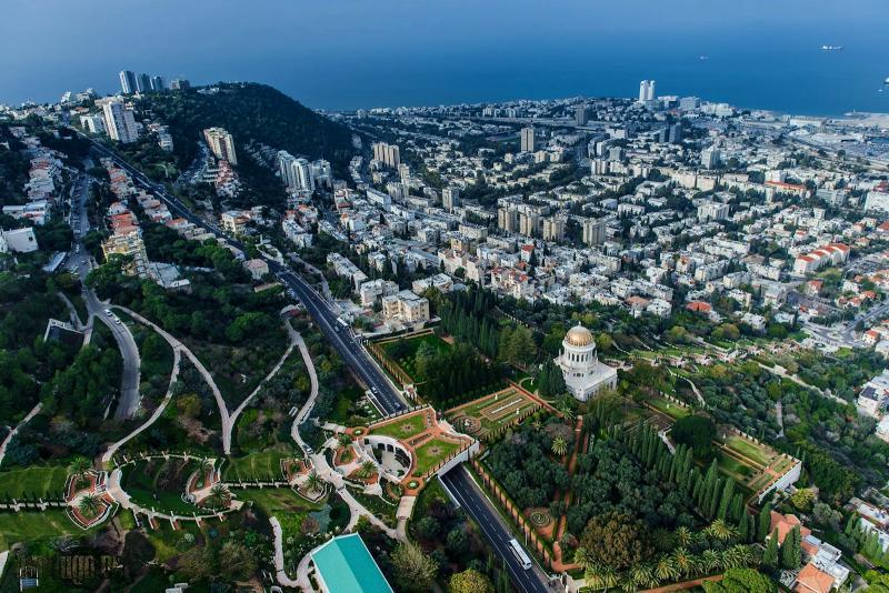Хайфа—город на побережье Средиземного моря