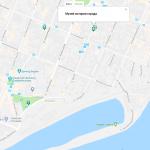 Хлебная площадь на карте Самары