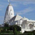 храм бирла мандир издалека