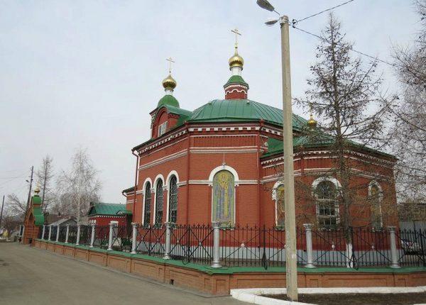 Храм Иоанна Богослова в Оренбурге