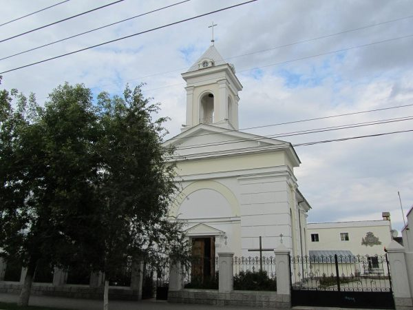 Храм Лоретанской Божией Матери в Оренбурге