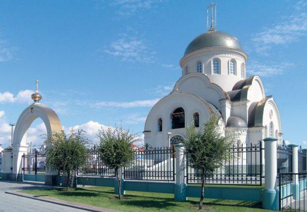 Храм Сергия Радонежского в Оренбурге