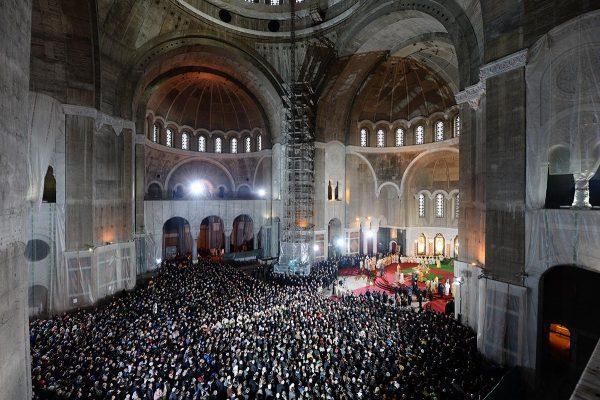 Храм святого Саввы внутри