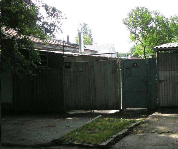 Дом, в котором жил писатель и поэт Губин, в Ессентуках