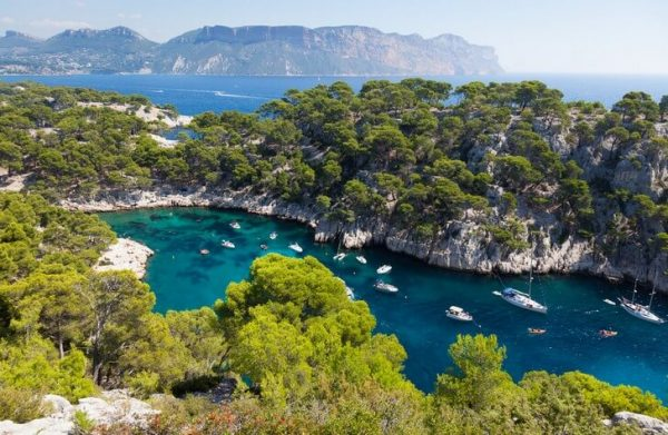 Каланки вдоль побережья Марселя