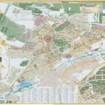 Карта Ессентуков с улицами и полезными учреждениями