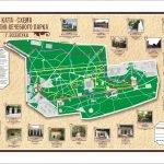 Карта Курортного парка Ессентуков