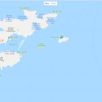 Карта островов около Марселя