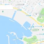 Карта прибрежной зоны Афин