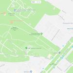 Карта расположения загородного парка в Самаре