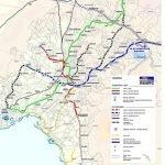 Карта транспортных магистралей Анкары