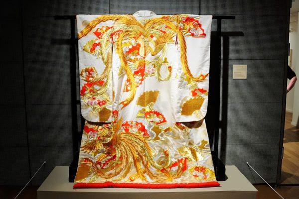 Кимоно на выставке в музее японского искусства